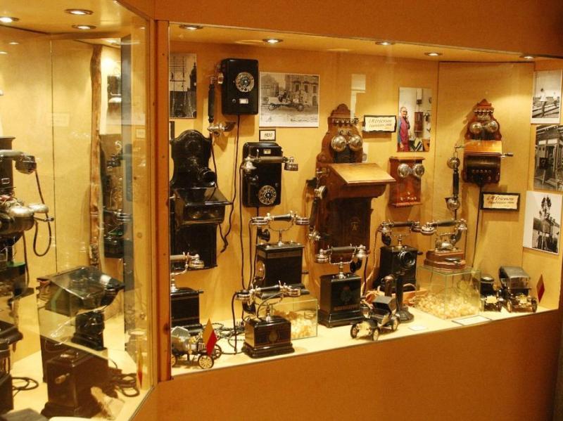 Telecommunnicatie-museum in Virserum